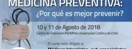 Primer Curso de Medicina Preventiva ¿Por qué es mejor prevenir?