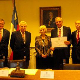 Dr. Eduardo Bancalari – Nuevo Miembro Honorario de la Academia Chilena de Medicina