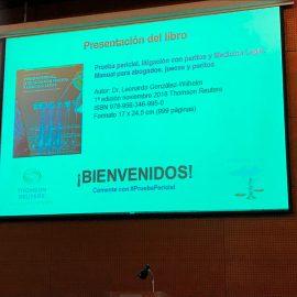 Presentación Libro: Prueba Pericial, Litigación con Peritos y Medicina Lega