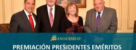 Ceremonia Premiación Presidentes Eméritos