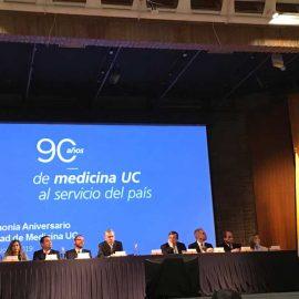 Conmemoración 90 años Facultad de Medicina UC