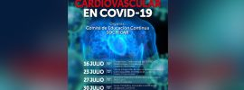 """LA  JORNADA ONLINE  COMPROMISO CARDIOVASCULAR EN COVID-19"""