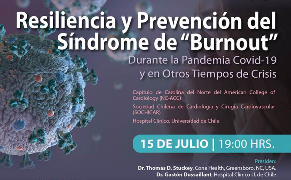 """""""RESILIENCIA Y PREVENCIÓN DEL SÍNDROME DE BURNOUT"""""""