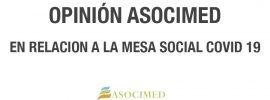 Opinión ASOCIMED MESA COVID19